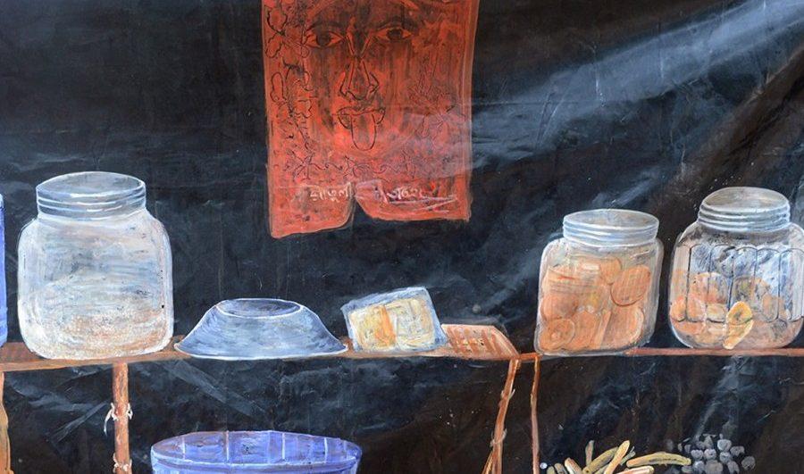'The Life of Temporary Shops' by Sarika Kumari