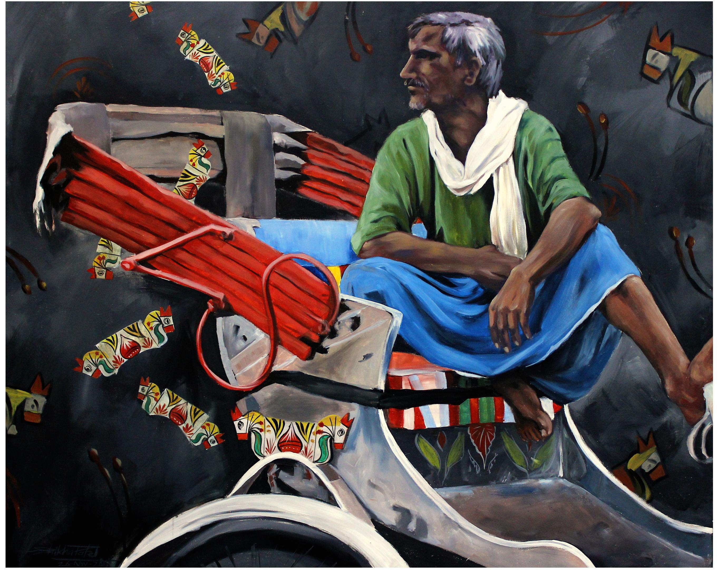 UntitledRickshaw-wala Series
